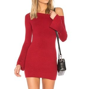 Lovers + Friends Westmont Mini Sweater Dress